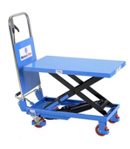 Hubtischwagen als mobile Version des Hubtisches