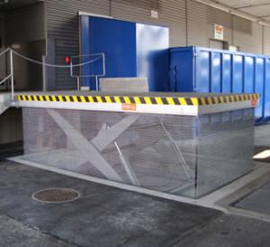 Hebebühnen und Anpassrampen für den Warenumschlag