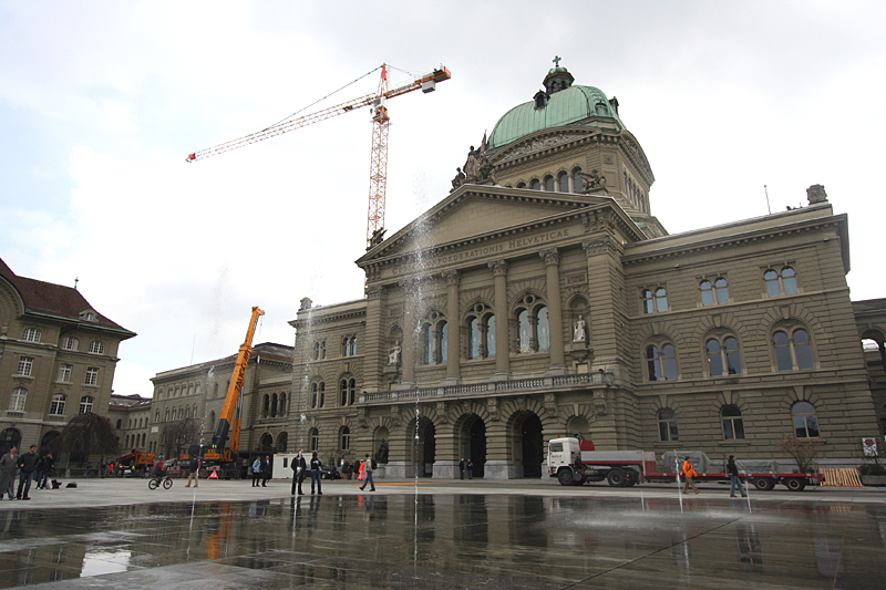 Liftsystem im Bundeshaus